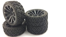 1/10 Scale on Road  Touring  RC Cars  Drift  Rubber Wheels Tires (4) Hpi Kyosho FS Redcat ACME HSP Tamiya