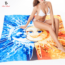 Ariel Sarah Brand 2017 Beach Cover Ups Floral Beach Mat Summer Square Beach Towel Swimsuit Cover Up Bikini Cover Up PJ020(China)