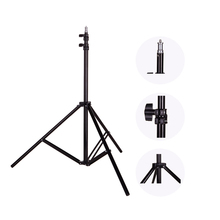 Photo 2M(79in) Light Stand Tripod With 1/4 Screw Head For Photo Studio Softbox Video Flash Umbrellas Reflector Lighting(China)