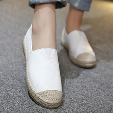Flats Women Shoes 2017 New Spring Summer Women Casual Shoes Breathable Slip-On Loafers big size 34-43