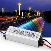 2017 Professional 1Pcs Aluminum 7-12*3W LED Driver Adapter AC 110-265V TO DC 20-42V Switch Power Supply For Floodlight TY-0020
