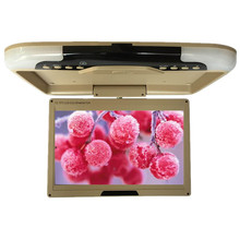 13 inches DC12V LCD Digital Screen Car Roof Mounted Monitor Car Ceiling Monitor Flip Down Monitor Overhead for Car or Bus 1308-2(China)