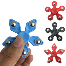 Wholesale Hand Spinner EDC stress Finger Spiner Fidget Autism ADHD Focus for Kids Adults Toys Gifts Ship Plastic Randomly