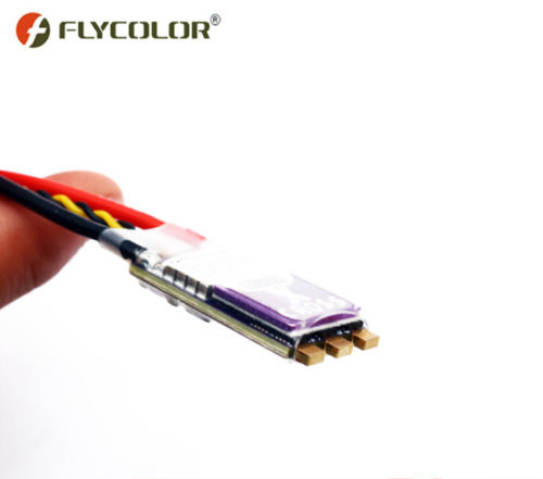 Flycolor X-Cross Blheli_32 50A 3-6S ARM 32bit DSHOT1200 Brushless ESC for RC Racer FPV Racing Drone<br>