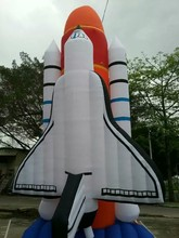 20 FT High Simulation Model Inflatable Space Shuttle For Advertisement(China)