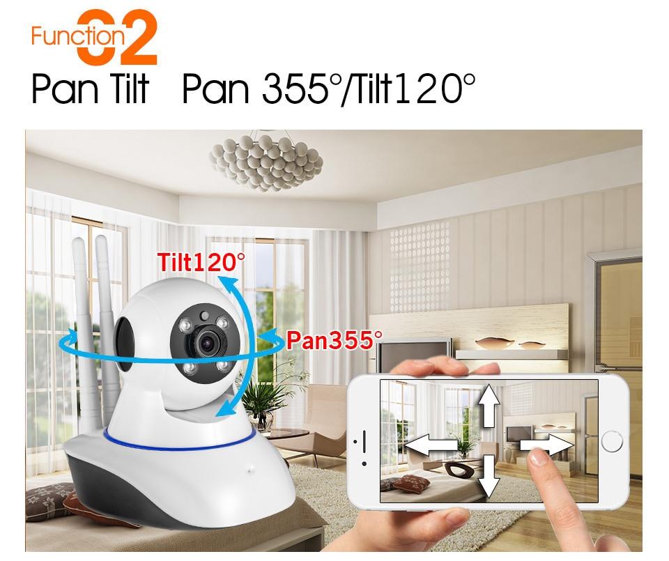 Pan Tilt Pan 355° Tilt120°