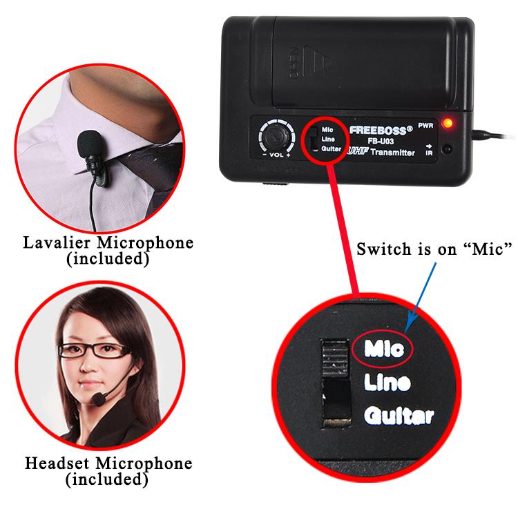FB-U03-2 42 Wireless Microphones