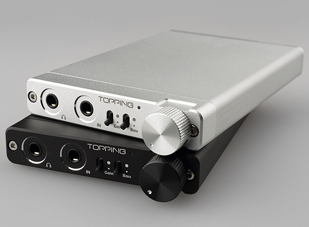 TOPPING NX3 Portable Headphone Amplifier HIFI Stereo Audio Amp Chip TPA6120A2 128 dB dynamic range gain & bass control(China (Mainland))