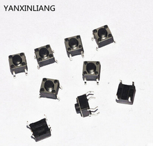 100PCS 6X6X6 DIP Tactile Tact Mini Push Button Switch Micro Switch Momentary 6*6*6mm