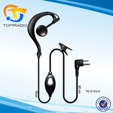 Headset for Kenwood Two Way Radio Earpiece For Motorola GP2000 CP040 Ear Hook Earpiece  For HYT Walkie Talke Mic