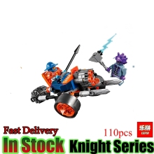 Lepin 14025 Nexus Knight 11King`s Guard Artillery Model Building Blocks Bricks Set figures Kid Toys Compatible 70347 - Honesty King store