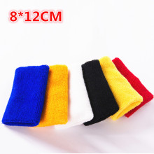 8*12cm Protector Wristbands Wrist Support for Gym Tennis/Weightlifting Sport Carpal Wrist Brace Sweatbands Cotton Wrist
