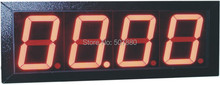 "JDMS Series 4""  4 digits LED display counter ,meter,timer,tachometer, speedomter"