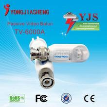 Tool-less (Snap on Style)Baluns/ video balun/passive video balun 1CH Passive utp video balun for CCTV