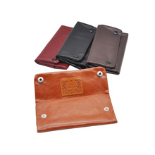 [HORNET] New Arrival PU Tobacco Pouch With 78 MM Paper Holder Tobacco wallet Bag Purse Bag(China)