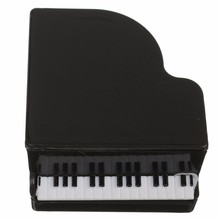 New Arrival Plastic Piano Shape Small Pencil Sharpeners Music Stationery For Kids Children School Supplies Gift
