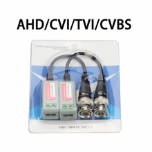 20Piece/lot Video Balun High Definition Twisted BNC To UTP Cat5/5e/6 CCTV Video Balun Passive Transceivers up to 3000ft Range