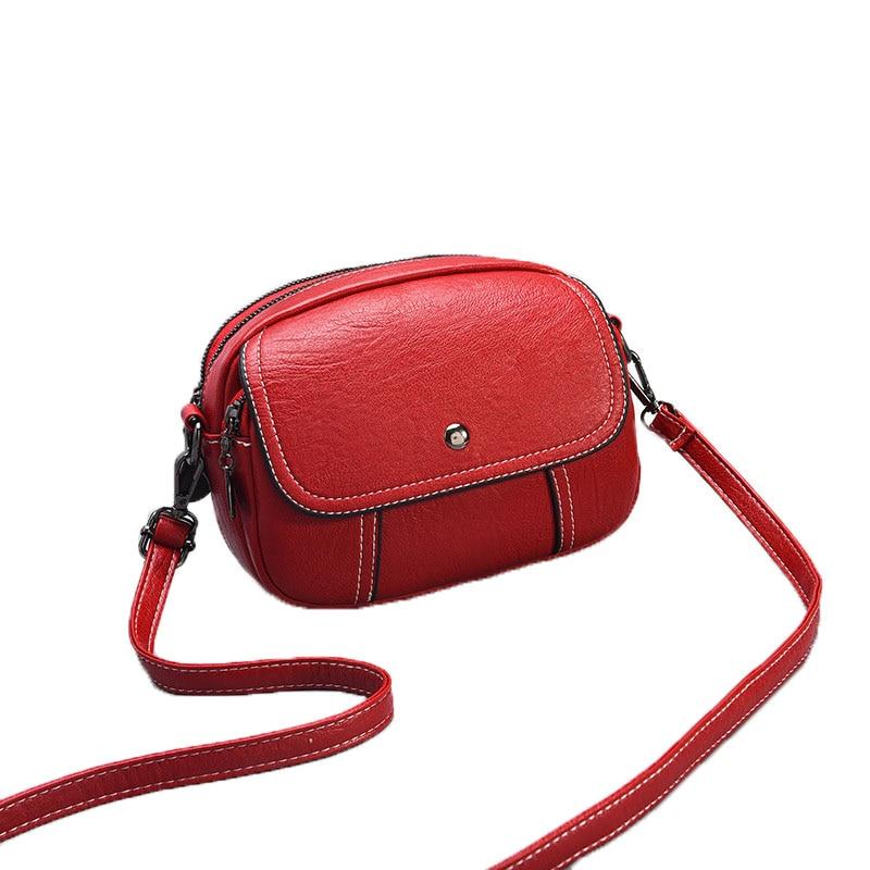 Women PU Leather Messenger Shoulder Bag Crossbody Tassel Belt Girl Handbag Purse
