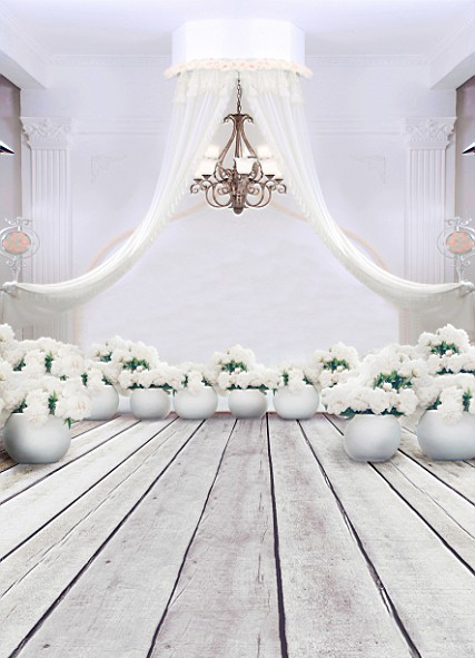 200cm*150cm(6.5ft*5ft) Fundo White flowers curtain wedding photography backdrop background for photo studio 3149<br><br>Aliexpress