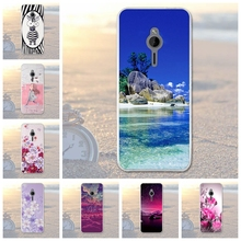 For Nokia 230 Case Silicone Gel TPU Soft Case For Microsoft Nokia 230 Cover Phone Protective Cases Painted Skin Shell N230 Bags(China)