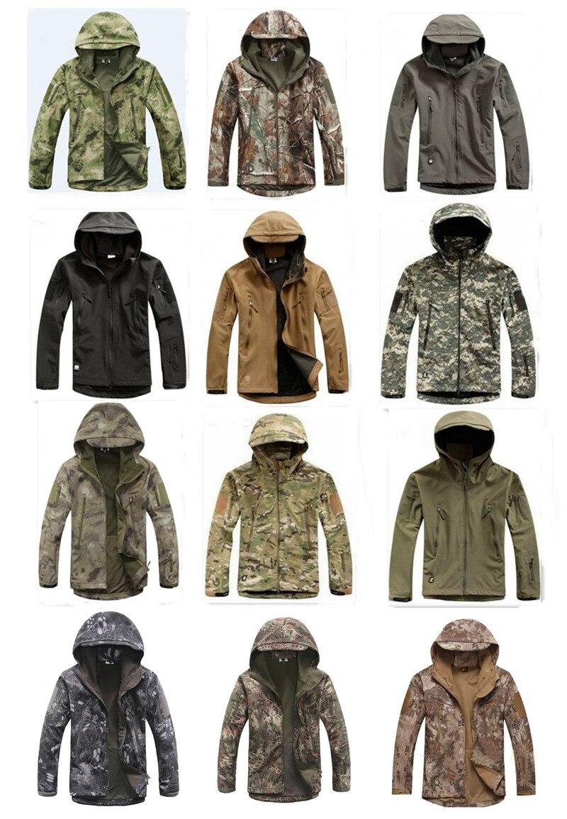 Unisex Waterproof Windbreak TAD V4.0 Sharkskin Softshell Hoodie Outdoor Jacket Camo Tactical Hiking Camping Soft Shell Coat<br><br>Aliexpress