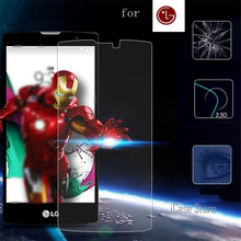 Premium Tempered Glass For LG L Fino D290N D290 Dual D295 / LFino G2Lite G2 Lite Screen Protector 9H Protective Film Guard(China)