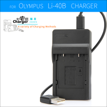 zhenfa USB battery charger for PENTAX D-Li63,D-L163 D-Li108,D-L1108 D-BC108 D-BC63 Optio L36 L40 LS1000 M30 M40 M90 T30 V10 W30(China)