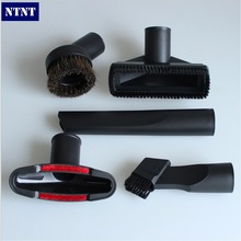 NTNT Free shipping multifunction universal 32mm vacuum cleaner parts accessories small nozzle brush floor tools filter bag
