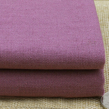rubber red linen material for upholstery cushions sofa table cloth hometextiles natural linen cotton fabric meter