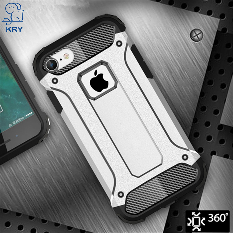 KRY Phone Cases iphone 6 Case 6s Plus Cases Armor Stand Hard Rugged Impact Cover iphone 7 Case 7 Plus Coque Capa