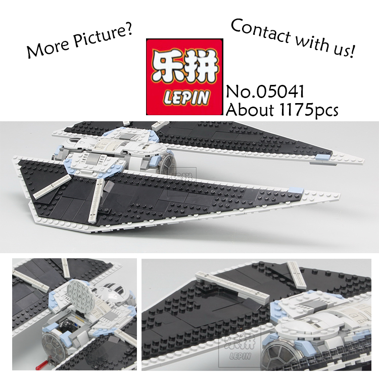 Lepin 05048 543Pcs Star War Seiers The TIE Striker Building Blocks Bricks figures Toys Compatible with 75154<br>