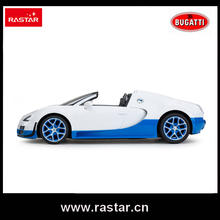 Rastar licensed Bugatti Grand Sport Vitesse 1:14 competition play game toys car drift Remote Control Car rc car for kids 70400(China)
