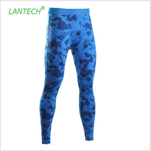LANTECH Men Compression Pants Tights Running Run Training Exercise Fitness Gym Football Soccer Basketball Pants Camouflage
