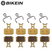 BIKEIN -  4 Pairs Metallic Bicycle Disc Brake Pads Bike Brake Shoes For Formula The One R1 R1R RO RX T1 Mega The One FR C1 CR3