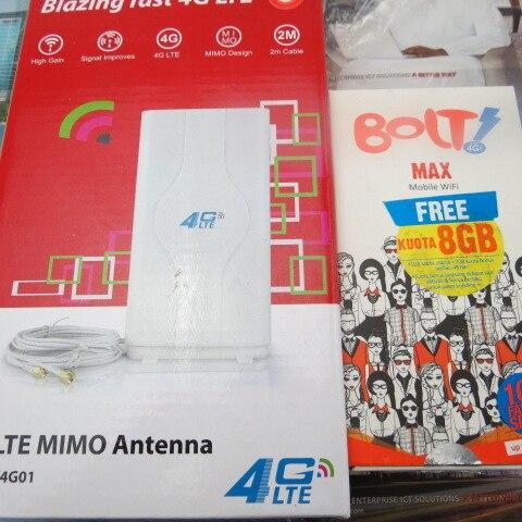 49dbi TS9 Antenna+Original Unlocked Huawei E5372s 4G LTE TDD 2300Mhz  mobile wifi hotspot router+ Thick battery 3560mAh<br><br>Aliexpress