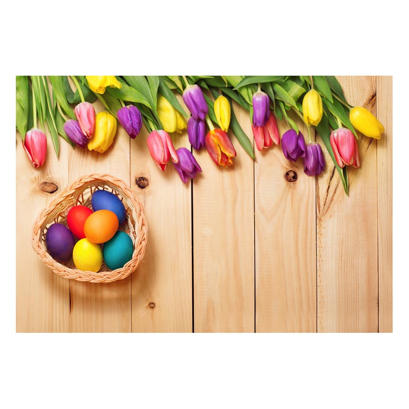 Thin fabric cloth Printed photography background easter backdrop with wooden floor 7X5ft GE-162<br><br>Aliexpress