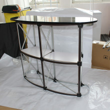 Christmas 2*2 Promotion Counter Pop Up Promotion Reception Table For Exhibition Table show Counter