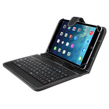 Tablet Cases Covers mini keyboard Brand 7 inch Universal PU Case Cover with Micro USB Keyboard PC for tablet#1