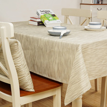 SunnyRain Solid Color Waterproof Table Cloth Polyester Tablecloth For Dining Table Rectangle Table Cover Customizable(China)