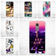 Case For Lenovo K6 Power Cover Soft Silicone Fundas For Lenovo k6 Power 5.0'' Painting Phone Cases for Lenovo k6 power Fundas(China)