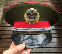 China Army Officer M87 Visor Cap the Chinese People's Liberation Army(China)