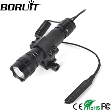BORUiT 1200LM XML T6 LED WF-501B Tactical Flashlight Aluminum Portable Gun Lantern Torch Light by 18650 Rechargeable Battery(China)