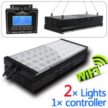 Mobile Control 180W Dsuny Full Spectrum WIFI Aquarium LED Lighting Dimmable Coral SPS LPS Marine Reef LED Light Sunrise Sunset