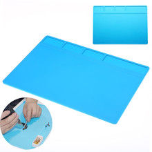 Soldering Repair Maintenance Platform Thermal Insulation Pad Silicone Mat pad soldering  Tables Tableware Insulation Mats
