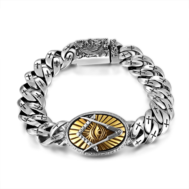 S925 silver lion personality man rings restoring ancient ways ...