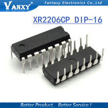 1PCS XR2206CP DIP16 XR2206 DIP 2206CP new and original IC free shipping