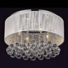 Modern Minimalist K9 Crystal Ball Ceiling Lights 4 Light Dia40CM