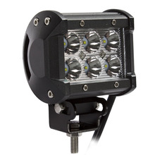 "weketory 4"" inch 18W LED Work Light Lamp for Motorcycle Tractor Boat Off Road 4WD 4x4 Truck SUV ATV Spot Flood 12v 24v"