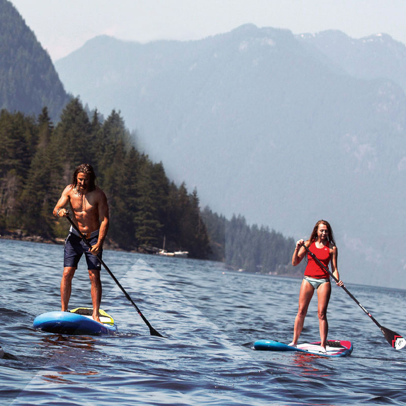 Blue surfboard stand up paddle board   SUP Boards