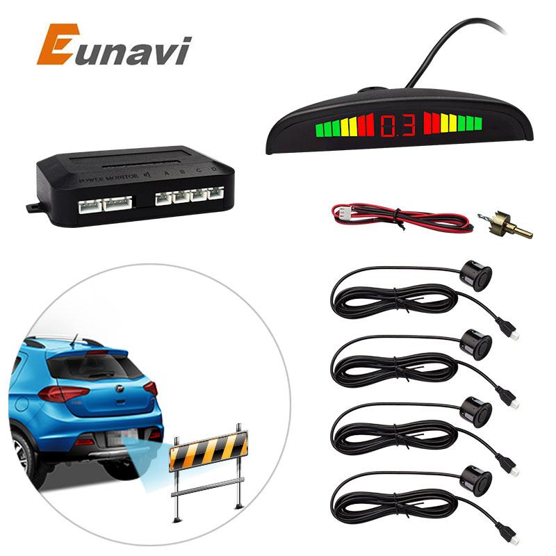 1Set Car LED Parking Sensor Kit Display 4 Sensors for all cars Reverse Assistance Backup Radar Monitor System<br><br>Aliexpress